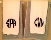 Monogram Hand Towels (Set of 2)