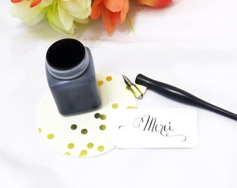 Merci Tags, Thank You Tag, Calligraphy Gift Tags, Merci Beacoup, Paris Themed Birthday, Bridal Shower Tags, Paris Wedding, Paris Baby Shower
