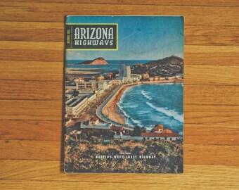 October 1955 issue of Arizona Highways Magazine