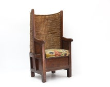 Childs Orkney Islands Chair with Original Needlework Seat