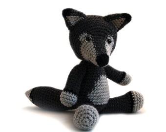 Crochet pattern Wolf - amigurumi - instant download pdf