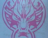 Final Fantasy VII Advent Children Fenrir Wolf Vinyl Decal featured image