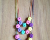 Handmade Personalised Kid's Name Necklace for Jessie