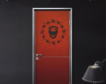 Scifi art inspired by Twelve Monkeys vinyl wall decal