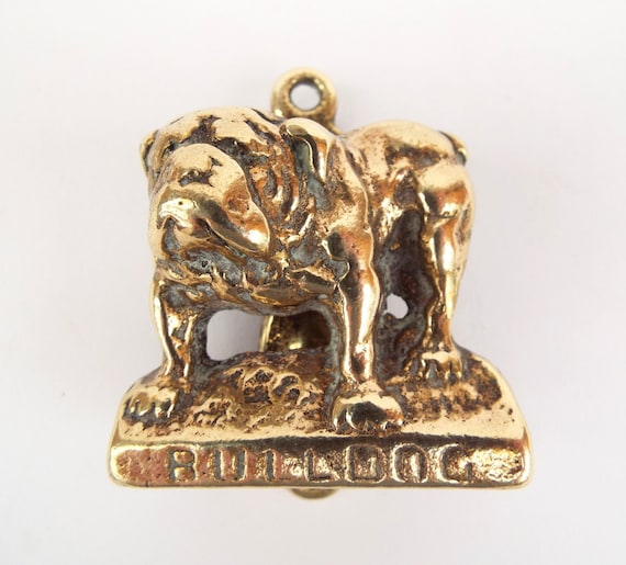 Bulldog Door Knocker Brass Dog Architectural By Englisholdschool