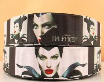 5 YDS New Maleficent Ribbon