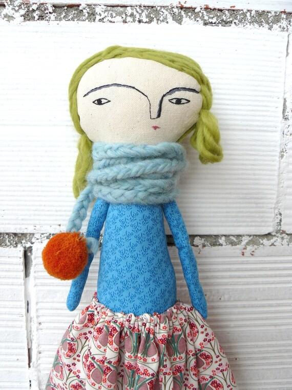 Big size  Julie Special doll: 48 cm / art doll