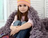 Boho sun hat for toddler girl 4-5 years old