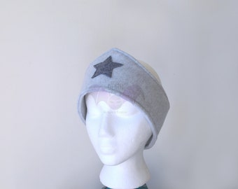 Gray Wonder Woman Ear Warmer Headband