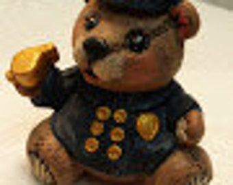Small Policeman Bear
