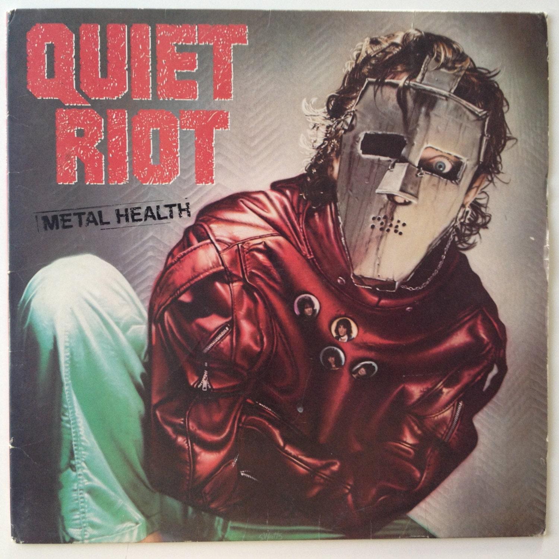 Quiet Riot Metal Health Lp Vinyl Record Album Pasha Fz