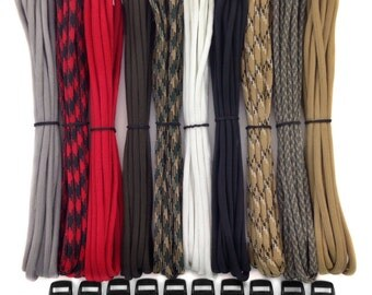 """550 Paracord Kit for Parachute Cord Bracelet 