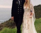 Veil, Drop Veil, Downton Abbey Veil, Mantilla Veil, Alencon Lace Veil, Long Lace Veil,  Wedding Veil,  Bridal Veil -  LOVE'S  PROMISE VEIL