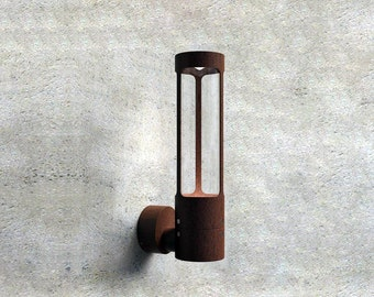 Natural Patina Outdoor Wall Light