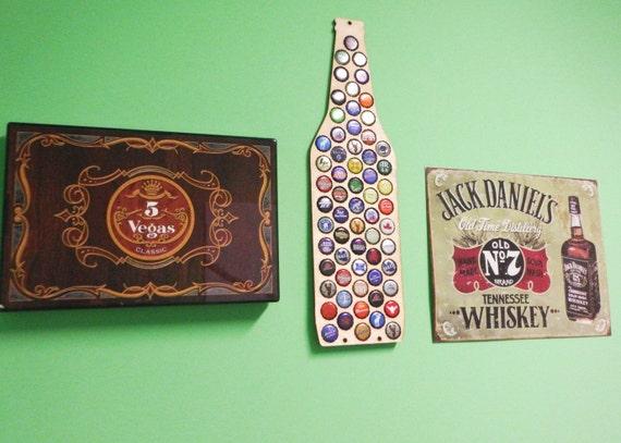 Beer Bottle Cap Holder Wood Beer Cap Display Beer By