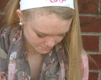 Monogrammed Headbands~ 7 Colors!