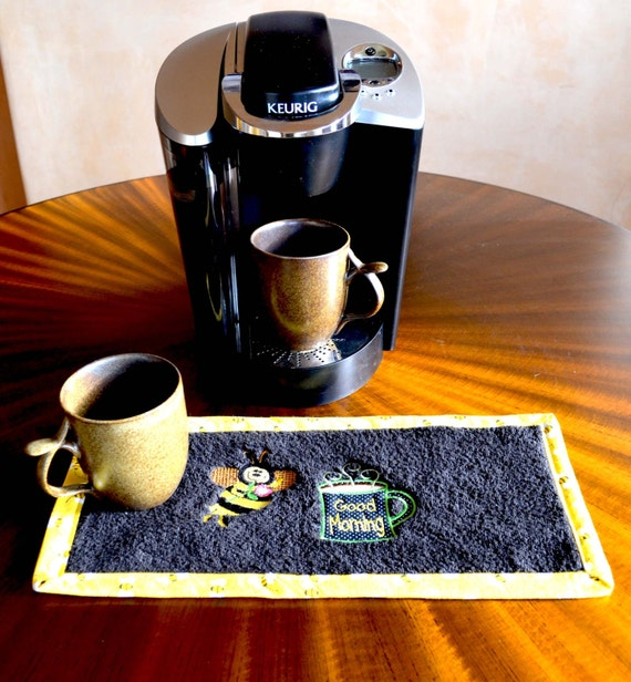 Large Coffee Rug Dorm Decor Coffee Rug Coffeepot Mat Mug
