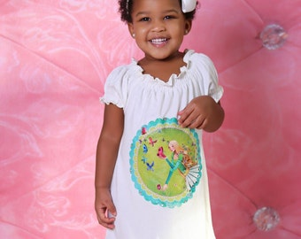 Mira basic Peasant top or dress sizes 3months to - 12 years pdf Pattern  All Sizes Included