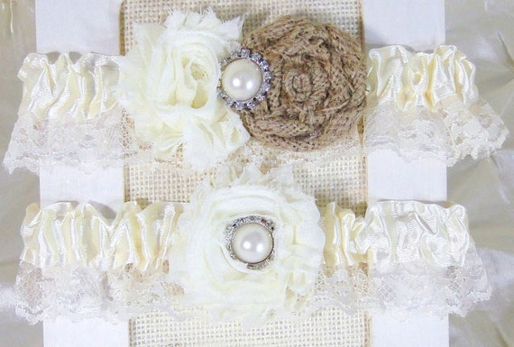Custom Wedding Garter Bridal Garter Set Choose By Deecreated4U