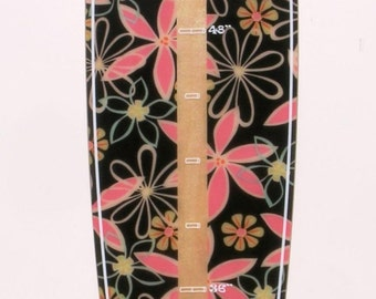 Coco Girl Surfboard-shaped growth chart