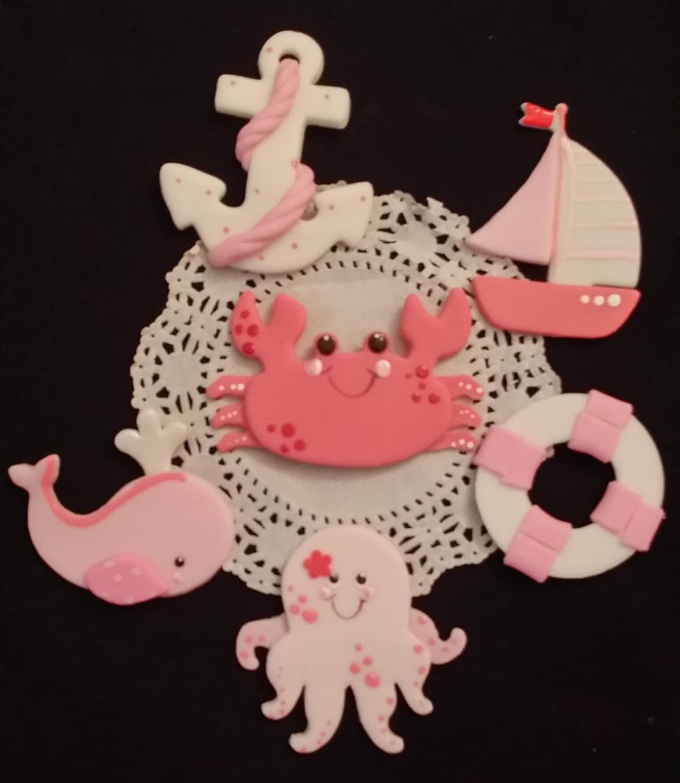 Pink Nautical Baby Shower Girls Nautical Theme Pink Nautical