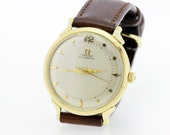 Gold Filled Omega Automatic Wrist Watch