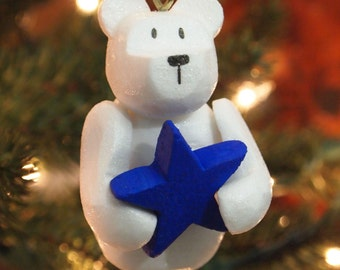 Snowbear with Star Ornament