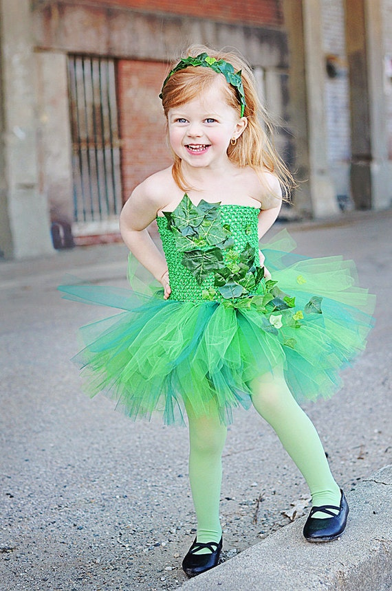 Poison Ivy Tutu Dress available via OhMyTutuCuteByDeanna