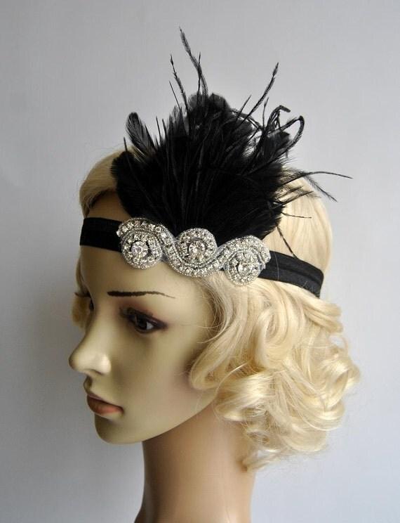 Flapper Headpiece uk Flapper Headpiece Vintage