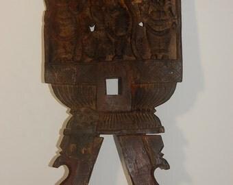 19th Century Kavadi Panel with Karttikeya