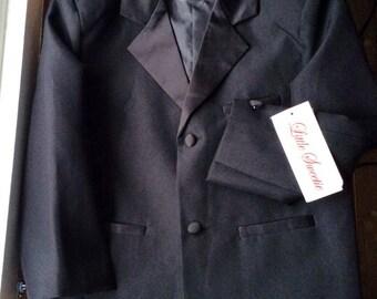 Vintage aged 3 boys Tuxedo jacket