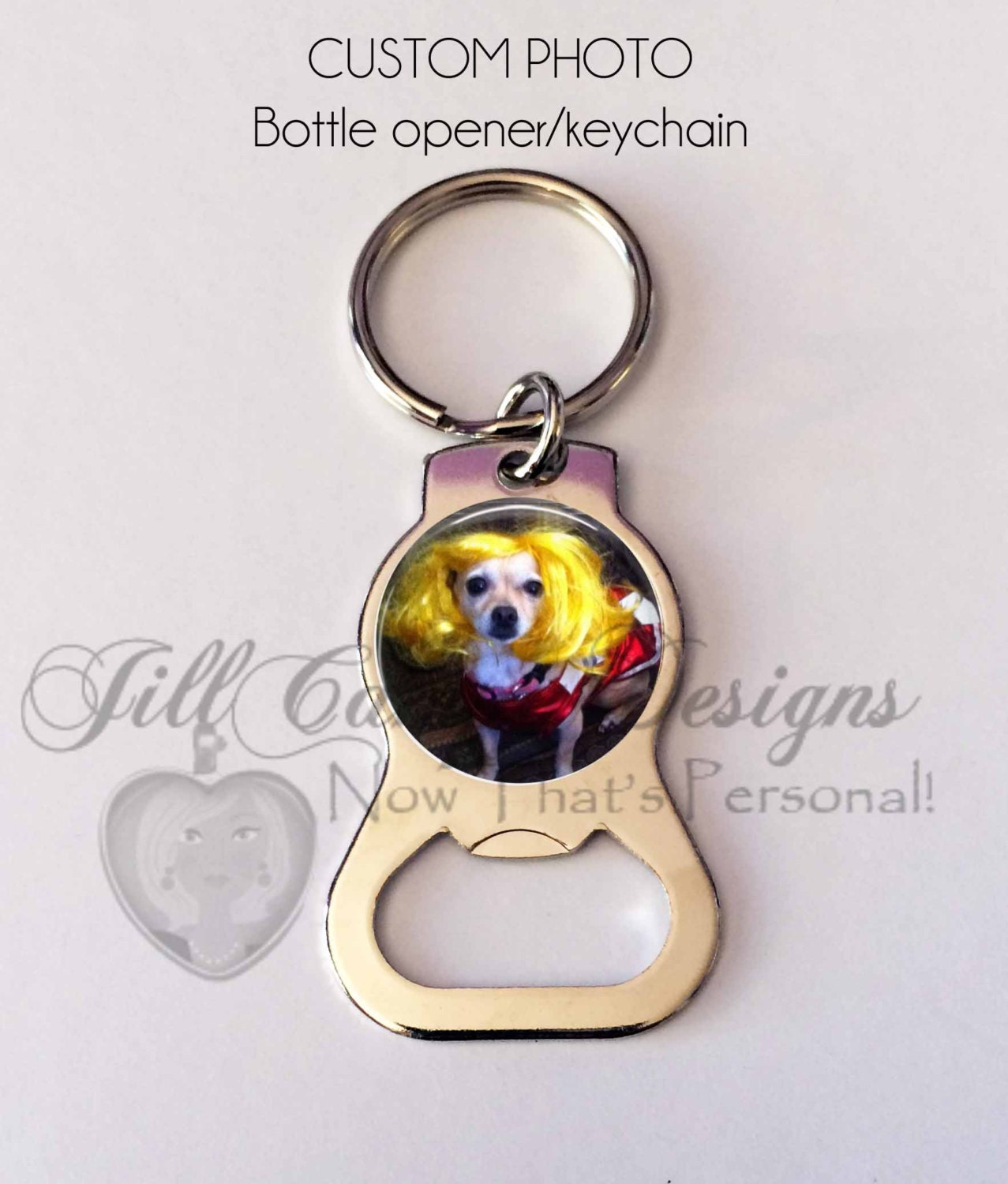 personalized bottle opener keychain photo key chain photo. Black Bedroom Furniture Sets. Home Design Ideas