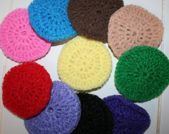 Scrubbies for the kitchen and bath