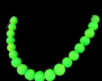 Neon Green Jewelry - Summer Time Necklace - Trendy Summer Jewelry - Summer Jewelry - Neon Green Necklace - Neon Jewelry - Neon Necklace