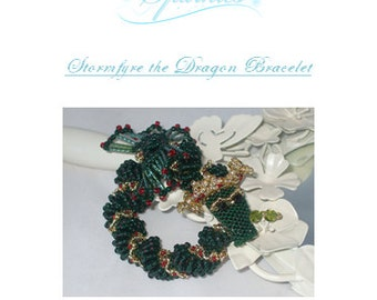 Stormfyre the Dragon Bracelet Tutorial