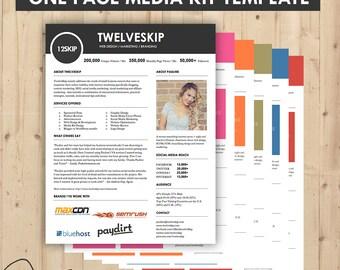Media Kit, Press Kit Templates { Easy To Edit, Clean & High Quality } Marketing