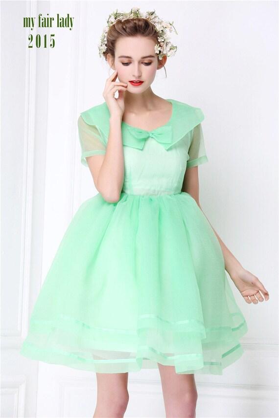 Bright Mint Green Dress Dress Summer Mint Green