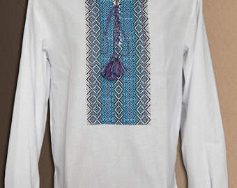 Embroidered shirt Ukrainian shirt Ukrainian clothing Shirt for men linen shirt Cotton shirt Father's day gift Ukraine