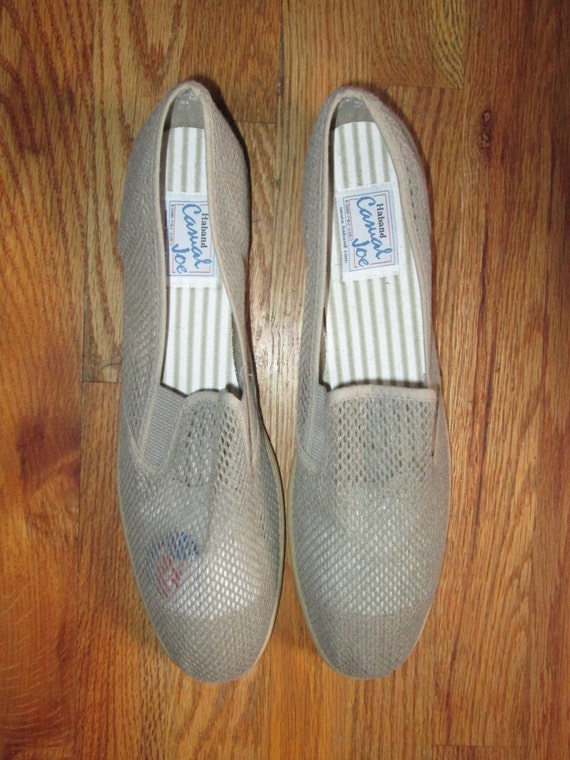 vintage haband casual joe cotton mesh loafer oxford boat