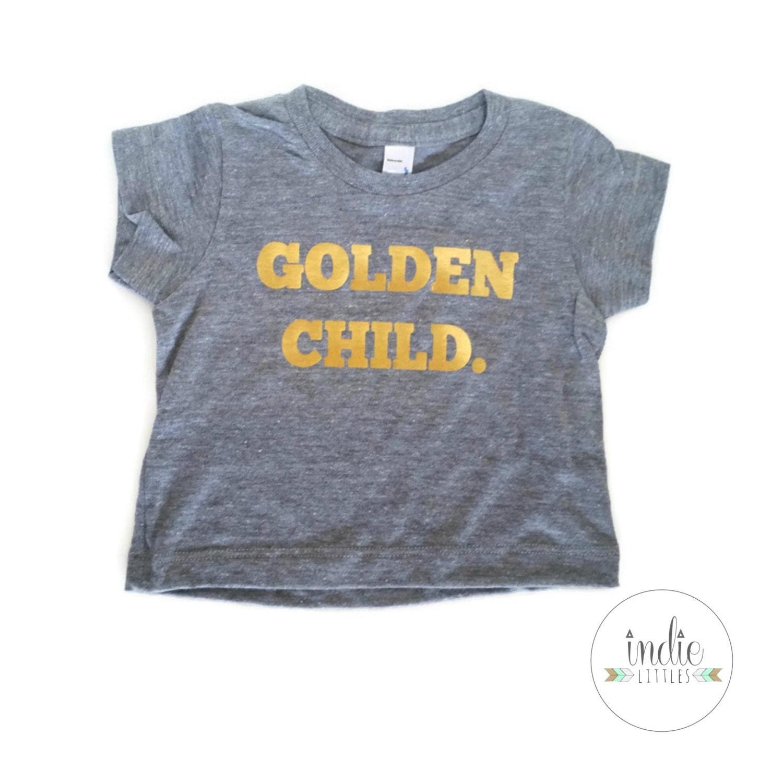 Golden child gray graphic tee shirt baby kids graphic tees for Graphic t shirts for kids