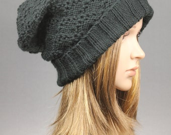 Made to Order,Knit Hat,Knit Slouch Beanie,Slouchy Hat,Slouchy Beanie, chunky beanie,Chunky Knit Beanie, Slouchy Beanie,baggy hat