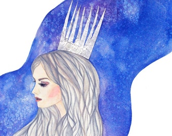 Snow Queen - Lustre Print