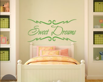 Sweet Dreams Vinyl Wall Decal Sticker Nusery Bedroom
