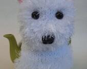 Westie Tea Cosy Knitting Pattern