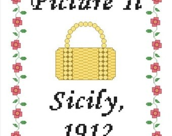 Golden Girls Inspired 'Picture It' Cross Stitch PATTERN