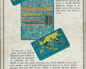 mickey mouse pencil box advertisment download