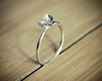 Silver Domed Ring