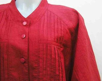 Red skirt suit, Plus size Skirt suit, Vintage skirt suit, retro two piece, 80s 1980s eighties, Mirrors Melbourne, size AU 24 UK 22 US 20