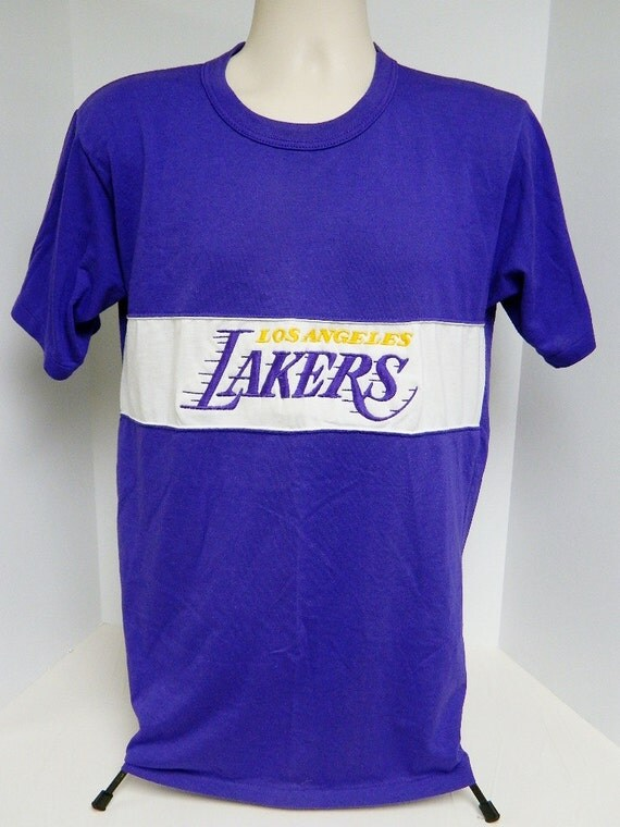 S los angeles lakers t shirt size xl by nutmeg mills