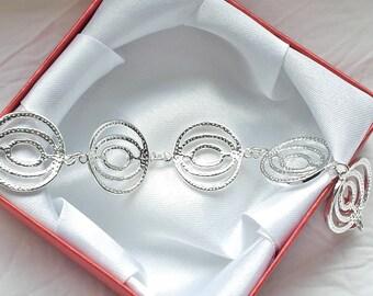 Zeitloses Armband für jeden Anlass, in 925 Sterling Silber